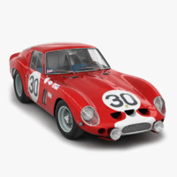 3d engine ferrari 250 gto model
