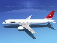 3ds a320 airbus airliners