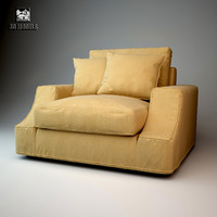 giorgetti armchair 3d model