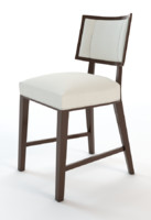 3d dining chair nailhead model