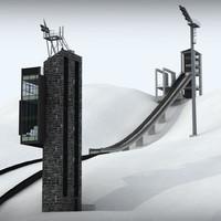ski jumping hill max