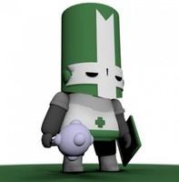 castle soldier 3d model