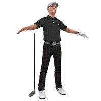 max golfer player hat