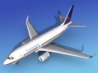 3dsmax boeing 737-700 737 737-700er