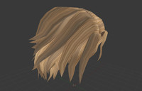men hairstyle man hair 3ds