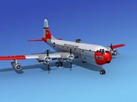 3d c-97 boeing stratofreighter