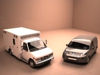 3d ambulance vehicle