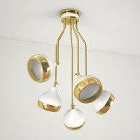 3ds max hanna suspension lamp
