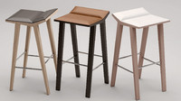 bar stool Andreu World Moody