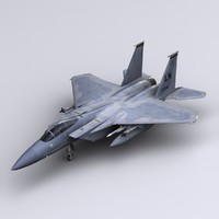 3d model f-15 eagle fighter f-15c