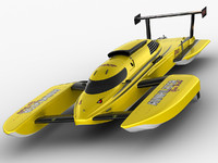 hydroplane annihilator 3d model