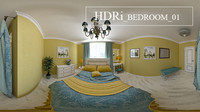 Bedroom 01 HDRi