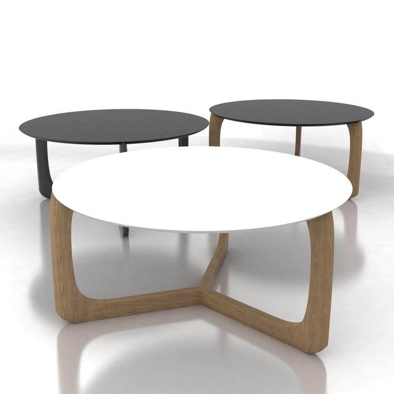 3d add interior lili - Table basse chene blanchi ...