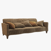 serpentine sofa donghia 3d 3ds