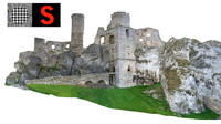 3ds max castle ruins