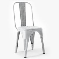chaise metal b r max