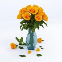 rose kerio 3d max