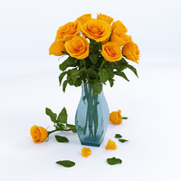 rose kerio 3d model
