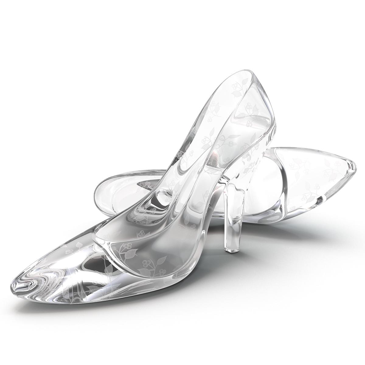 High Heels Glass Shoes