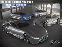 3d mercedes concepts vol 3 model
