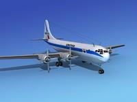 3d model stratocruiser boeing 377