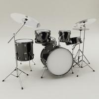 drum set 3d max