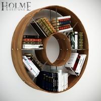 bookshelf obj