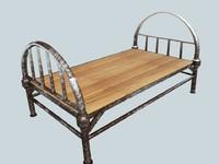 Metallic Bed
