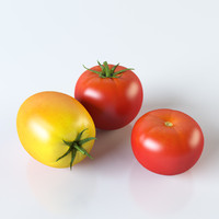 3d tomatoes