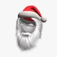 santa claus outfit 3d max