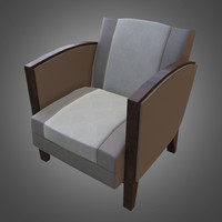 Deco Dining Chair (PBR Game Ready)