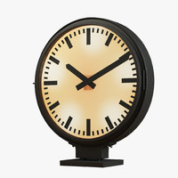 Restoration Hardware - Train Station Clock