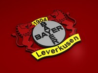 bayer leverkusen emblem 3d model