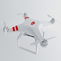 phantom drone dji 3d 3ds