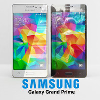samsung galaxy grand prime 3d model
