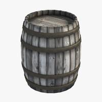 medieval wooden barrel max