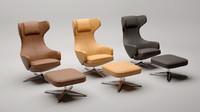 3dsmax grand repos chair