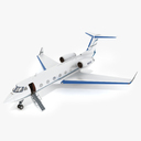 Gulfstream III 3D models