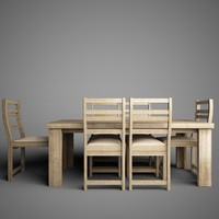 3d dining table 04