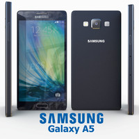 3d model of samsung galaxy a5