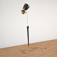3d model of amy floor lamp