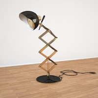 3d max billy table lamp
