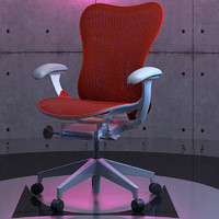 3d model hermanmiller mirra2 chair