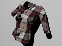 blouse 3d max