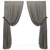 3d model curtains