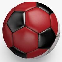 3ds max soccerball pro ball black