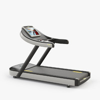 3ds max technogym run treadmill