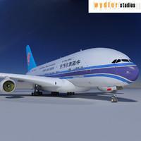 a380 air obj