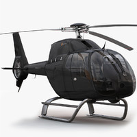 eurocopter ec 120 black 3d max