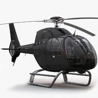 3ds max eurocopter ec 120 black